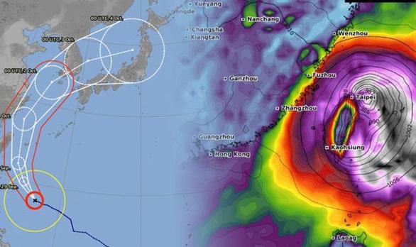 Sợ bão Mitag, Đài Loan đóng cửa thị trường tài chính - Ảnh 1.