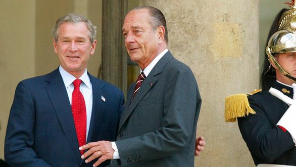 Vì sao Mỹ để 3 ngày mới chia buồn lễ tang Chirac? - Ảnh 3.