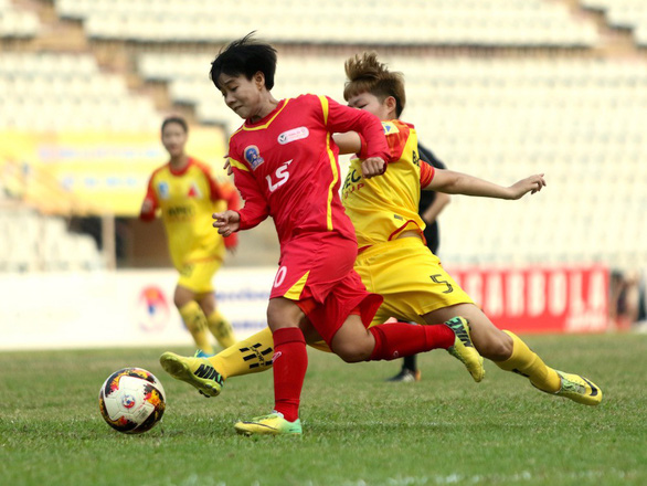 Kim Chi có chức vô địch quốc gia thứ 4 cùng CLB nữ TP.HCM I - Ảnh 1.