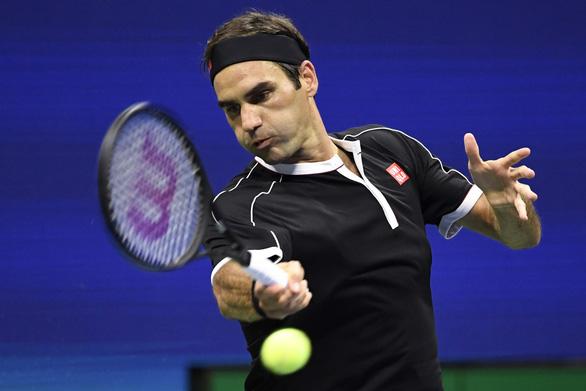 Thắng ngược 'tàu tốc hành', 'tiểu Federer' vào bán kết Mỹ mở rộng - Ảnh 1.
