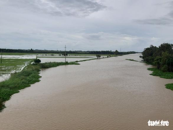 Mực nước đầu nguồn sông Cửu Long tiếp tục tăng do mưa bão - Ảnh 2.