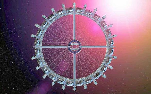 Khách sạn trong không gian sẽ bắt đầu đón khách năm 2025 - Ảnh 1.