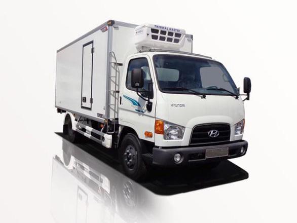 Xe đông lạnh 6,5 tấn New mighty 110S khẳng định danh tiếng của hãng xe Hyundai - Ảnh 1.