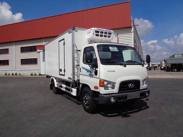 Xe đông lạnh 6,5 tấn New mighty 110S khẳng định danh tiếng của hãng xe Hyundai - Ảnh 2.
