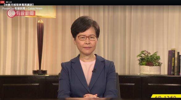 Bà Carrie Lam thông báo chính thức rút lại dự luật dẫn độ - Ảnh 1.