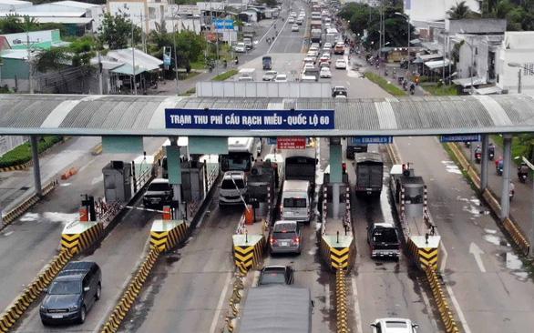 Trạm thu phí cầu Rạch Miễu ở xã Thới Sơn: Tỉnh xin bỏ, bộ không cho - Ảnh 1.