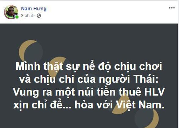 CĐV Việt Nam khen ngợi Tuấn Anh và chọc quê Messi Thái - Ảnh 2.