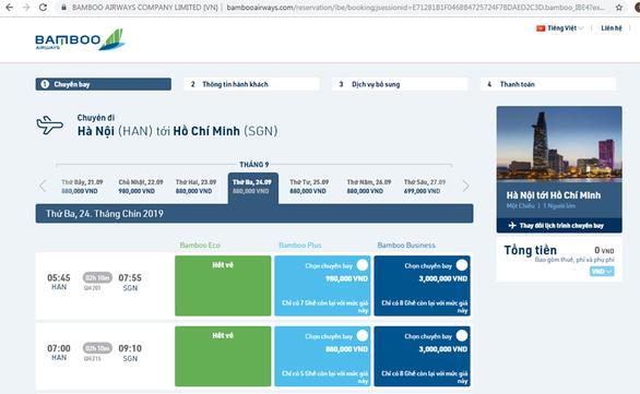 Vietnam Airlines muốn đối thủ niêm yết giá vé máy bay bao gồm thuế, phí - Ảnh 2.