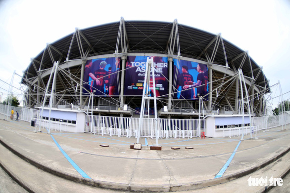 Nhận diện sân Thammasat nơi Thái Lan và Việt Nam quyết đấu - Ảnh 3.