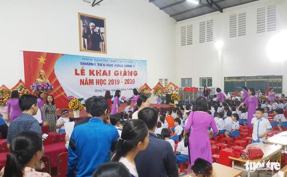 Mưa lũ, 222 trường ở Hà Tĩnh và 135 trường ở Nghệ An phải dừng khai giảng - Ảnh 4.