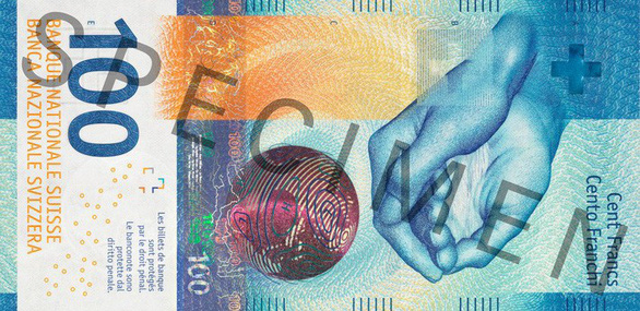 Thụy Sĩ sắp phát hành tờ tiền giấy mệnh giá 100 franc mới - Ảnh 1.