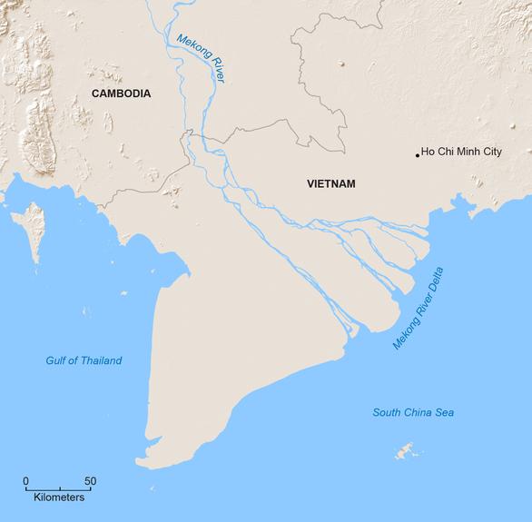 ĐBSCL chỉ còn trên mực nước biển 0,8m, nguy cơ di tản 12 triệu người - Ảnh 2.