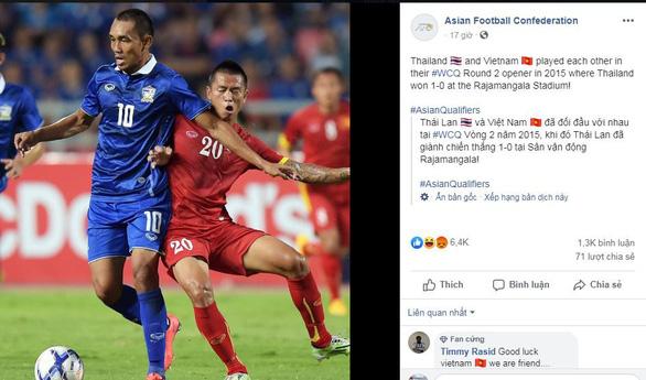 Cổ động viên châu Á dành nhiều tình cảm cho tuyển Việt Nam - Ảnh 1.