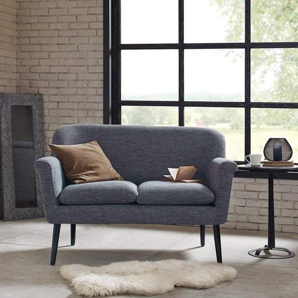 Nhà nhỏ mà lại thích sự ấm cúng, hãy chọn sofa đôi - Ảnh 1.