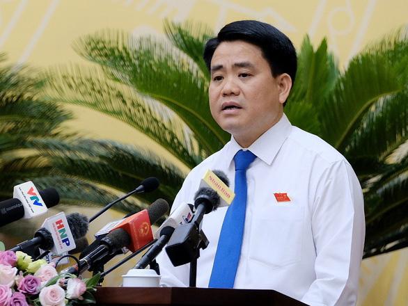 Chủ tịch Hà Nội Nguyễn Đức Chung: Đóng sớm các giếng khoan nhiễm thạch tín - Ảnh 1.