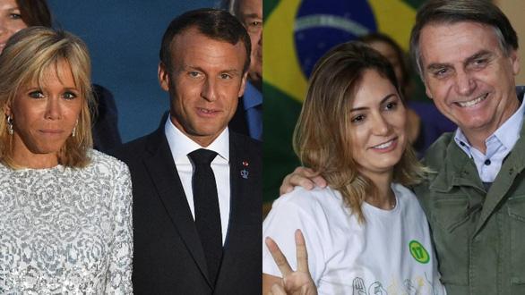Bộ trưởng Brazil chê đệ nhất phu nhân Pháp: Bà ấy xấu thật! - Ảnh 2.