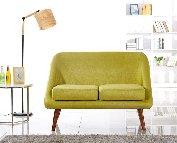 Nhà nhỏ mà lại thích sự ấm cúng, hãy chọn sofa đôi - Ảnh 5.