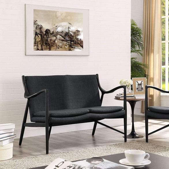 Nhà nhỏ mà lại thích sự ấm cúng, hãy chọn sofa đôi - Ảnh 6.