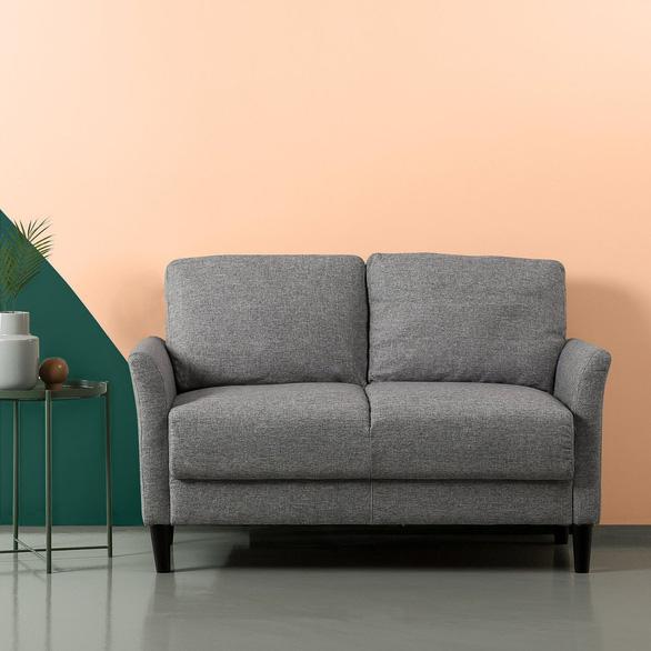 Nhà nhỏ mà lại thích sự ấm cúng, hãy chọn sofa đôi - Ảnh 8.