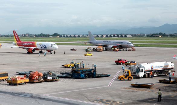 Vietjet Air xin tự lo dịch vụ mặt đất tại Nội Bài và Cam Ranh - Ảnh 2.