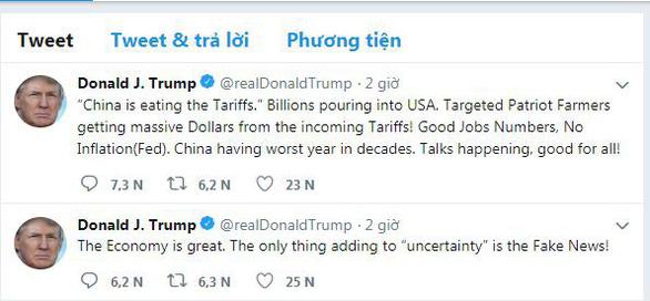 Ông Trump: Trung Quốc đang trải qua năm tháng tồi tệ nhất - Ảnh 2.