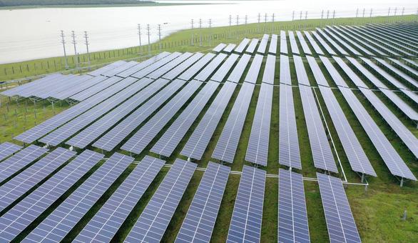 Khánh thành cụm năng lượng mặt trời Dầu Tiếng, lớn nhất Đông Nam Á - Ảnh 3.