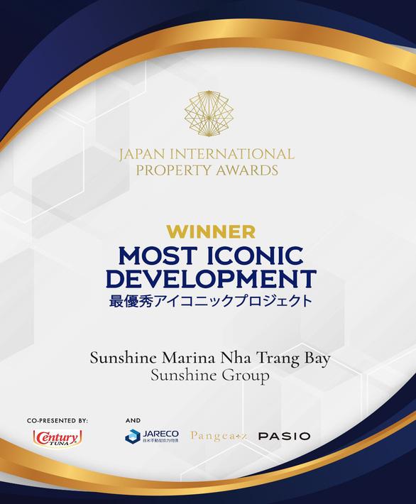 BĐS quốc tế Nhật Bản vinh danh Sunshine Marina Nha Trang Bay - Ảnh 1.