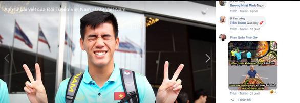 Cổ động viên Việt Nam không tin nổi U22 Trung Quốc... yếu dữ vậy - Ảnh 1.