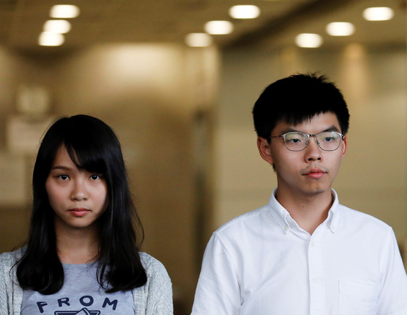 Hoàng Chi Phong bị bắt lại sau chuyến đi Đài Loan - Ảnh 1.
