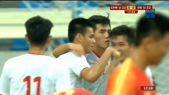 Tiến Linh lập cú đúp, U22 Việt Nam thắng dễ U22 Trung Quốc - Ảnh 1.