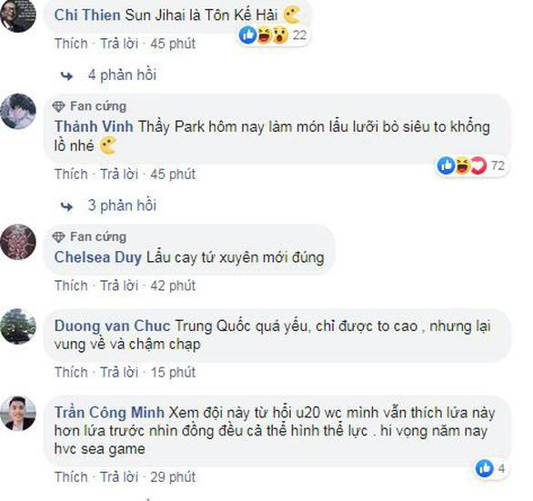 Cổ động viên Việt Nam không tin nổi U22 Trung Quốc... yếu dữ vậy - Ảnh 2.