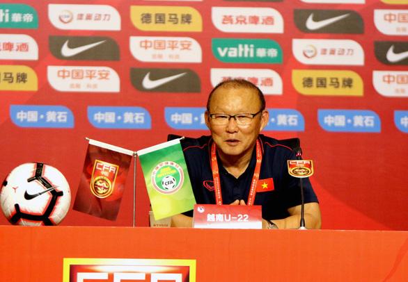 HLV Park nói về trận thắng U22 Trung Quốc: Chỉ là chúng tôi chơi tốt hơn mong đợi - Ảnh 1.