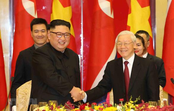 Tổng bí thư, Chủ tịch nước Nguyễn Phú Trọng gửi điện mừng quốc khánh Triều Tiên - Ảnh 1.