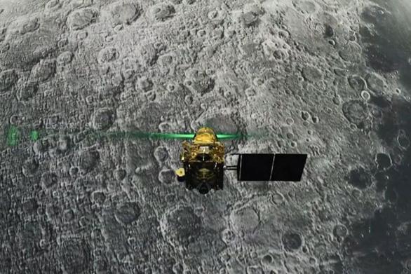 Định vị được tàu đổ bộ lên Mặt trăng của Ấn Độ - Ảnh 1.