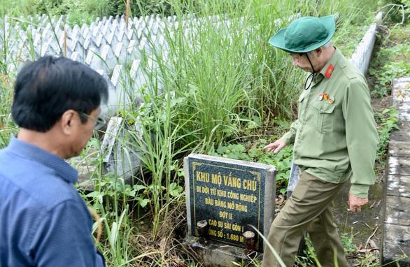 Phát hiện hơn 2.800 ngôi mộ không ghi danh nghi có hài cốt liệt sĩ ở Bình Dương - Ảnh 5.