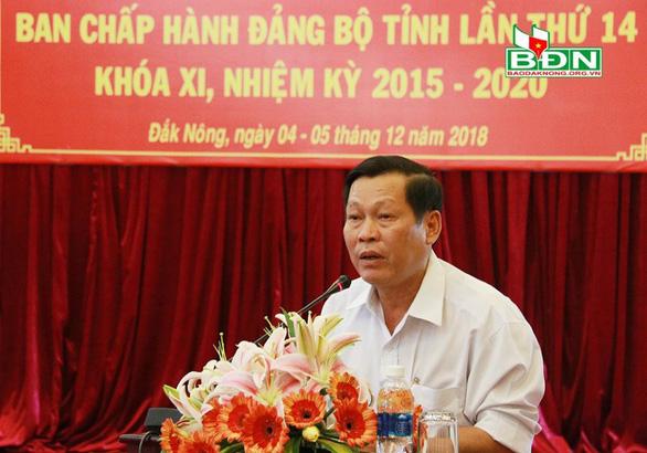Thủ tướng quyết định kỷ luật lãnh đạo, nguyên lãnh đạo tỉnh Đắk Nông - Ảnh 1.