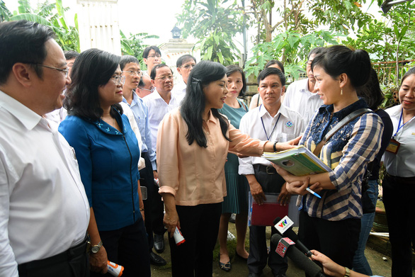 Bộ trưởng Nguyễn Thị Kim Tiến: Người dân còn coi thường sốt xuất huyết - Ảnh 4.