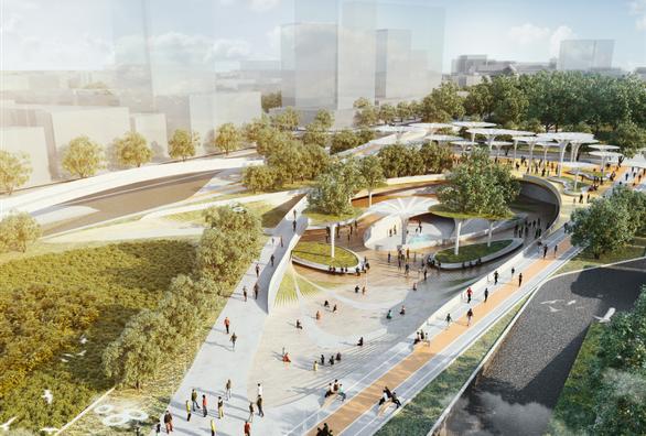 Công viên 23-9 tại TP.HCM được vinh danh Dự án tương lai của năm - Ảnh 3.