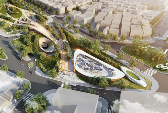 Công viên 23-9 tại TP.HCM được vinh danh Dự án tương lai của năm - Ảnh 2.