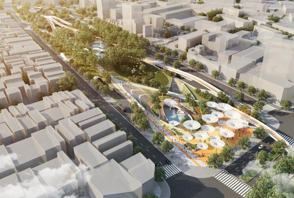 Công viên 23-9 tại TP.HCM được vinh danh Dự án tương lai của năm - Ảnh 1.