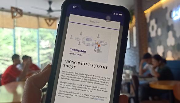 Gặp sự cố, ví điện tử Timo khuyến cáo người dùng không giao dịch - Ảnh 1.