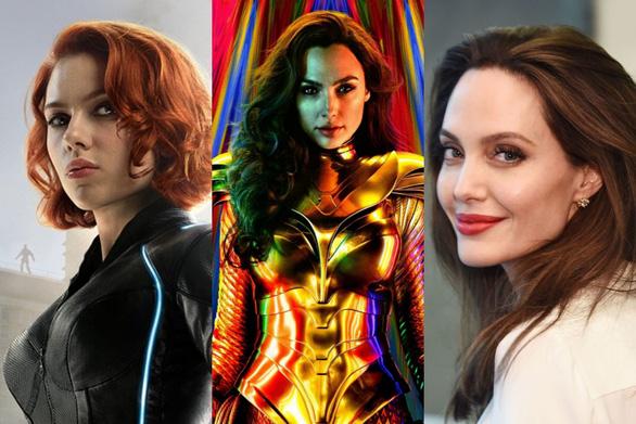 Dàn mỹ nhân của Marvel và DC sẽ tỏa sáng năm 2020 - Ảnh 1.