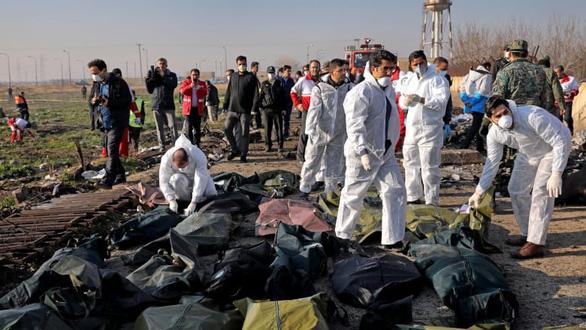Iran chính thức mời Mỹ tham gia điều tra vụ rơi máy bay Ukraine - Ảnh 1.