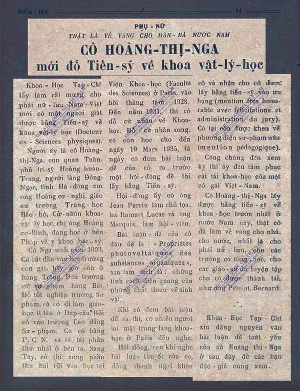 Cuộc đời lặng lẽ, bí ẩn của nữ tiến sĩ Tây học đầu tiên của Việt Nam - Ảnh 3.