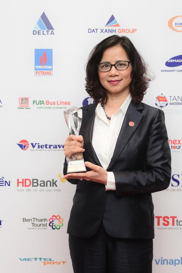 Vietravel liên tiếp dẫn đầu Top 10 công ty uy tín ngành du lịch - lữ hành 2017 - 2019 - Ảnh 2.