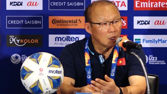 HLV Park Hang Seo nhận trách nhiệm về thất bại của U23 Việt Nam - Ảnh 1.
