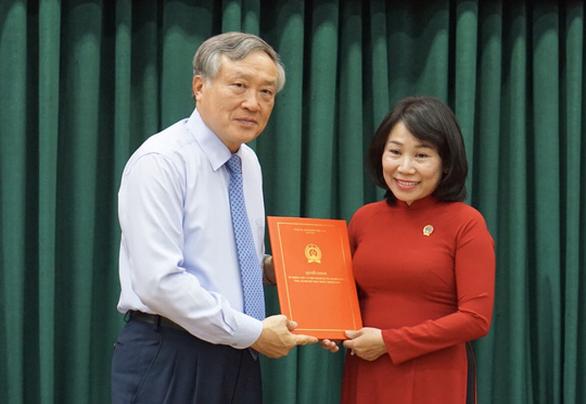 Bà Phạm Thị Thu Hà làm phó chánh án TAND TP.HCM - Ảnh 1.