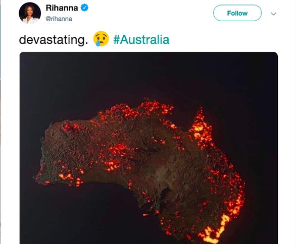 Ảnh cháy rừng như hỏa ngục ở Úc khiến dân mạng xôn xao: ảnh vệ tinh hay ảnh giả? - Ảnh 2.