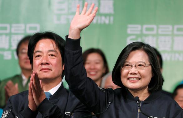Bà Thái Anh Văn tuyên bố chiến thắng, tiếp tục lãnh đạo Đài Loan thêm 4 năm - Ảnh 1.