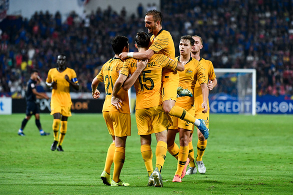 Đuối sức trong hiệp 2, Thái Lan thua ngược Úc 1-2 - Ảnh 1.